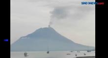 Gunung Api Ili Lewotolok di Lembata NTT Erupsi