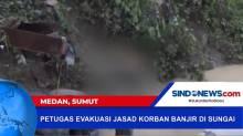 Dua Jasad Korban Banjir di Medan Ditemukan Tim SAR