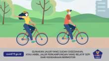 Tips Aman Bersepeda di Saat Pandemi Covid-19