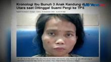 Ibu Tega Membunuh Tiga Anak Kandungnya di Nias Utara
