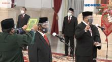 Presiden Jokowi Juga Melantik Kepala BNN serta BRG