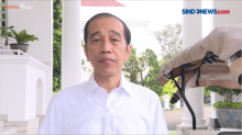 Presiden Jokowi Minta Maksimalkan Pencarian Pesawat Sriwijaya Air Jatuh