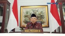 Ucapan Belasungkawa Wakil Presiden RI Maruf Amin