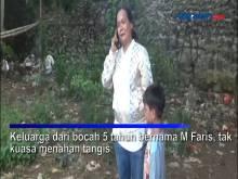 Bocah Lima Tahun Tenggelam di Aliran Kali Ciliwung