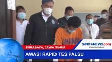 Polisi Tangkap Terduga Pelaku Pemalsuan Test Rapid Antigen