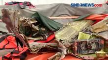 KRI Rigel Tampung Temuan Bagian Tubuh Korban dan Serpihan Pesawat