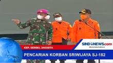 Kelanjutan Pencarian Korban Sriwijaya Air JT-182
