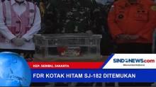 FDR Kotak Hitam Sriwijaya Air SJ-182 Ditemukan