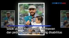 Syekh Ali Jaber Sangat Peduli dengan Penyandang Disabilitas