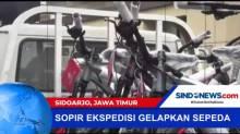 Polisi Tangkap Pelaku Penggelapan Ekspedisi Sepeda di Sidoarjo