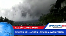 Gunung Semeru Keluarkan Lava dan Awan Panas di Lumajang, Jawa Timur