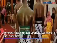 Video Viral Pria Kekar di Sukoharjo Kawal Pernikahan