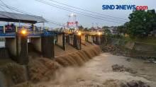 Kondisi Bendungan Katulampa Paska Banjir Bandang di Puncak