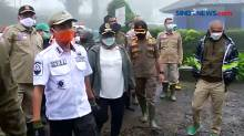 Bupati Bogor Tinjau Korban Banjir Bandang di Kawasan Gunung Mas