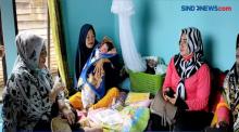 Bayi Perempuan Lahir di Tengah Musibah Banjir
