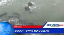Bocah Tenggelam Terbawa Arus di Pesisir Muara Baru, Jakut