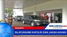 Kapolri Jenderal Pol Listyo Sigit Prabowo Kunjungi Jaksa Agung