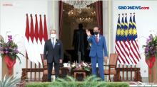 Presiden Jokowi Terima Kunjungan PM Malaysia di Istana Kepresidenan