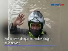 Semarang Banjir! Ketinggian Banjir Sempat Mencapai 1,5 Meter