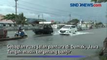 Tiga Hari Tergenang Banjir, Banyak Lubang di Jalan Pantura