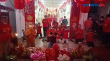 Ibadah Tahun Baru Imlek di Lapas Kelas 1 Medan Terapkan Prokes