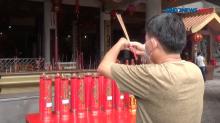 Ibadah Imlek di Vihara Avalokitesvara Pematangsiantar Dibatasi