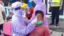 Penyekatan Dan Rapid Tes Antigen Di Perbatasan Sidoarjo