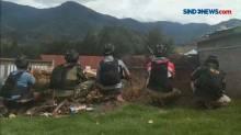 Baku Tembak TNI Polri dengan KSB Kab Puncak, Papua Masih Berlangsung Pagi Ini
