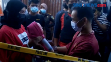 Rekonstruksi Pembunuhan Satu Keluarga di Pontianak, Kalimantan Barat