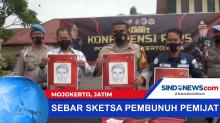 Polisi Sebar Sketsa Wajah Pembunuh Pemijat di Mojokerto