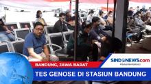 Hari Pertama Layanan Tes Genose di Stasiun Bandung