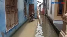 Puluhan Rumah di Desa Bandar Agung Terendam Banjir