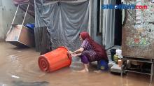 Sisakan Lumpur dan Sampah, Banjir di Cipinang Melayu Mulai Surut