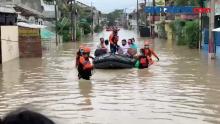 Minggu Pagi, Banjir Kota Bekasi Mulai Surut