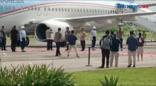 Disambut Hujan dan Petir, Presiden Jokowi Kunjungi Food Estate Sumba Tengah