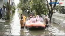 Kisah Pengantin Menumpang Perahu Karet untuk Ijab Kabul