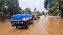 Banjir Jalur Pati Jepara Terputus