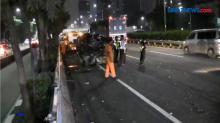 Kecelakaan Beruntun di Ruas Tol dalam Kota