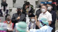 Harapan Wapres Maruf Amin Usai Tinjau Vaksinasi Covid-19 untuk Atlet