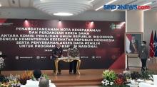 Jakarta, KPU dan Kemenkes Jalin Kerja Sama Pemanfaatan Data Pemilih untuk Vaksinasi Covid