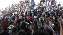 Demo Ricuh DPRD Kota Batam