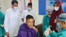 Puluhan Mahasiswa di Tangerang Jalani Vaksinasi Covid-19