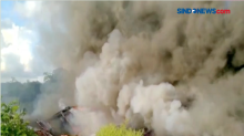 Sembilan Rumah di Permukiman Padat Penduduk Terbakar