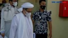 Habib Rizieq Shihab Hadiri Sidang Pelanggaran Prokes