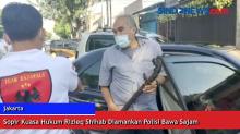 Sopir Kuasa Hukum Rizieq Shihab Diamankan Polisi Bawa Sajam