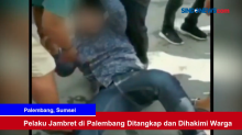Pelaku Jambret di Palembang Ditangkap dan Dihakimi Warga