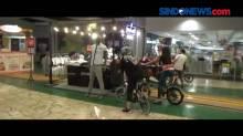 Berolahraga Sepeda di dalam Mal Bale Kota, Tangerang