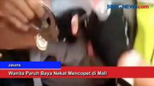 Wanita Paruh Baya Nekat Mencopet di Mall