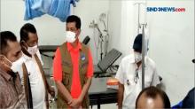 Kepala BNPB Tinjau Korban Bencana Banjir di Lembata