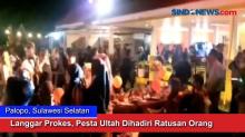 Langgar Prokes, Pesta Ultah Dihadiri Ratusan Orang